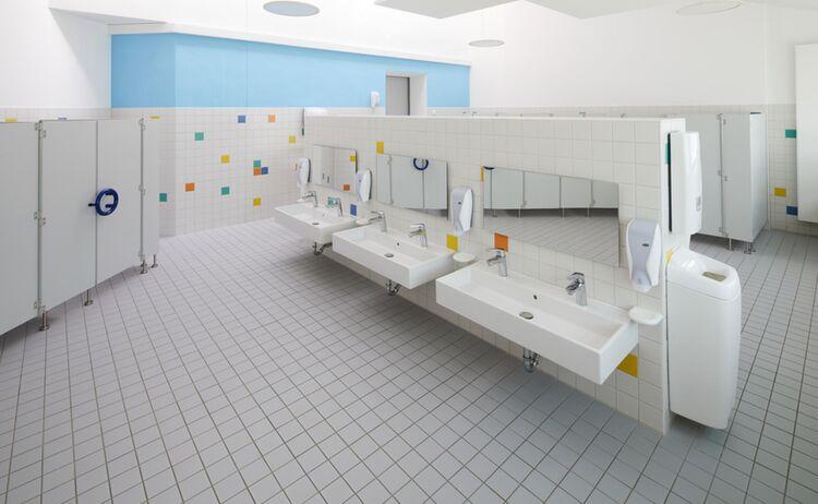 Sanitaerbereich Kiga